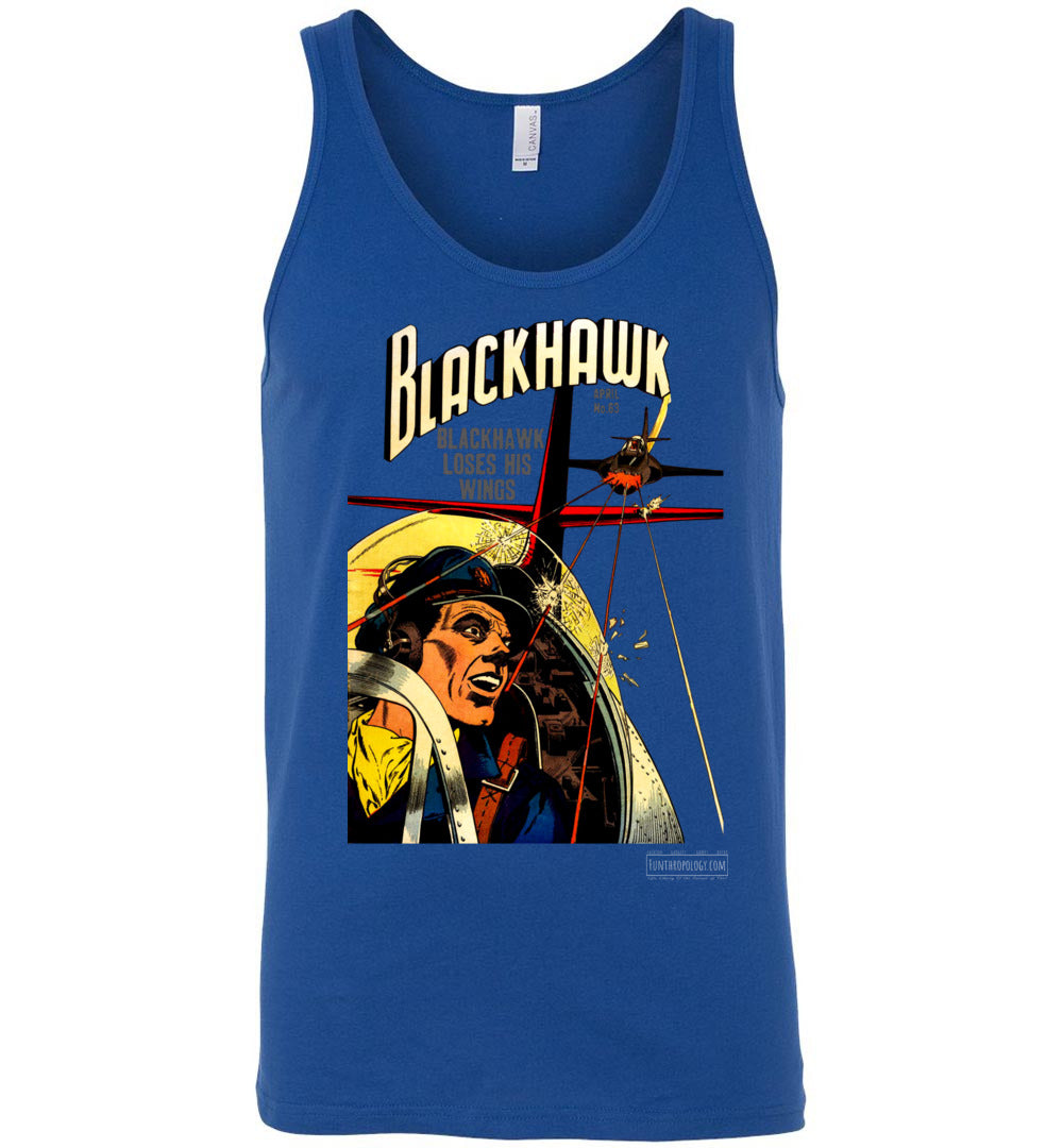 Blackhawk No.63 Tank Top (Unisex, Dark Colors)