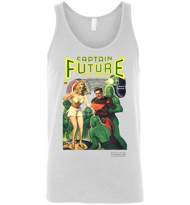 Captain Future No.12 Tank Top (Unisex, Light Colors)