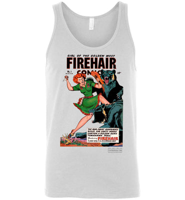 Firehair Comics No.1 Tank Top (Unisex, Light Colors)