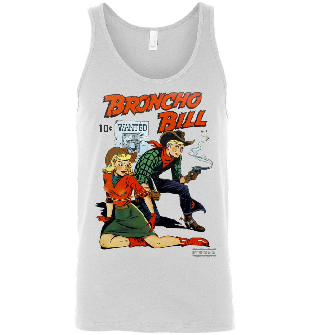 Broncho Bill No.7 Tank Top (Unisex, Light Colors)
