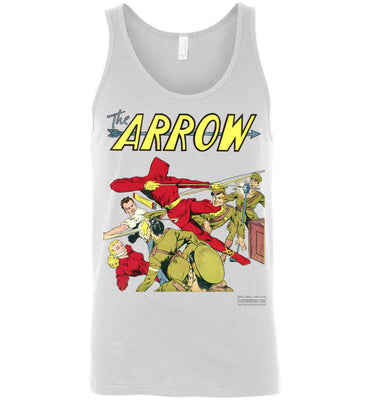 The Arrow No.3 Tank Top (Unisex, Light Colors)
