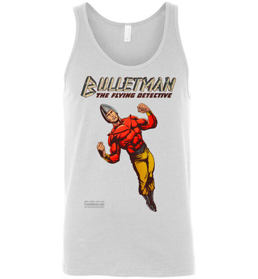 Bulletman Reimagined Tank Top (Unisex, Light Colors)