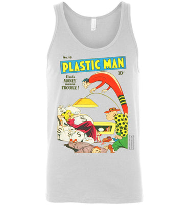 Plastic Man No.16 Tank Top (Unisex, Light Colors)