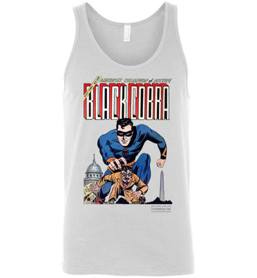 Black Cobra No.1 Tank Top (Unisex, Light Colors)