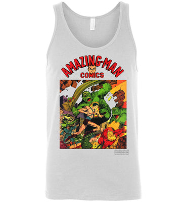 Amazing-Man Comics No.22 Tank Top (Unisex, Light Colors)