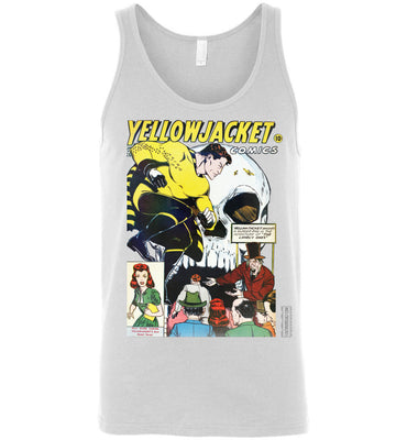 Yellowjacket No.7 Tank Top (Unisex, Light Colors)