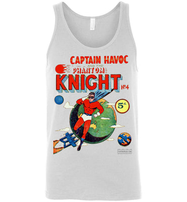 The Phantom Knight No.4 Tank Top (Unisex, Light Colors)