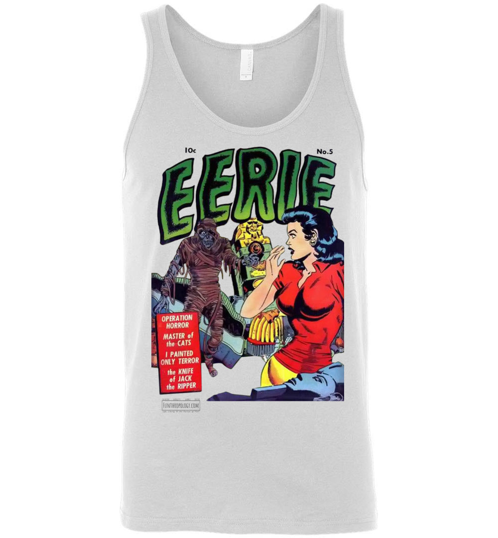 Eerie Comics No.5 Tank Top (Unisex, Light Colors)