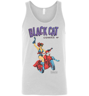 Black Cat No.1 Tank Top (Unisex, Light Colors)