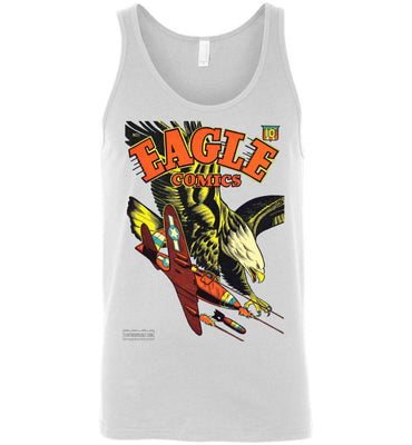 Eagle Comics No.1 Tank Top (Unisex, Light Colors)