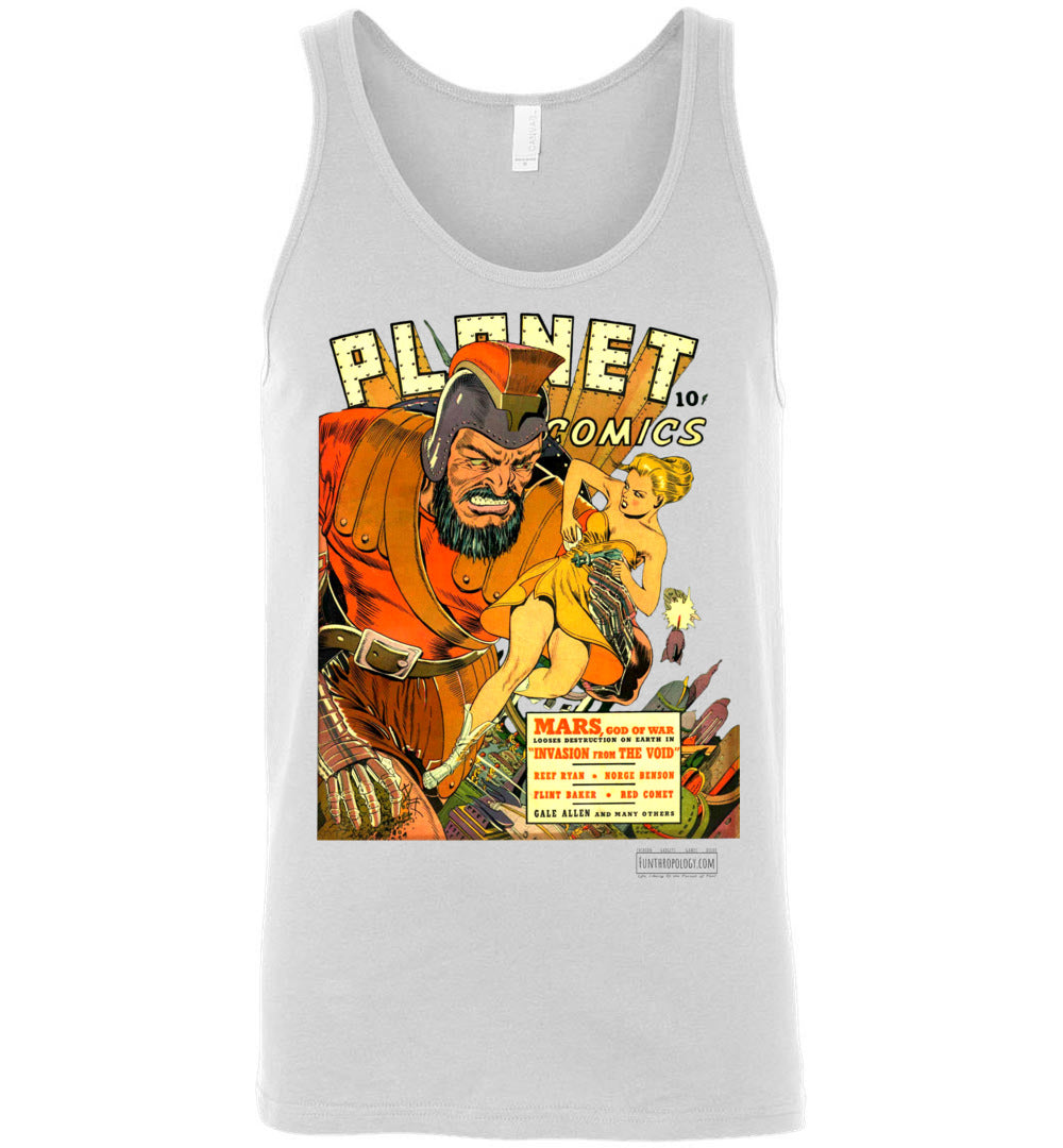 Planet Comics No.16 Tank Top (Unisex, Light Colors)