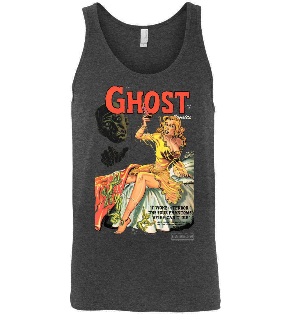 Ghost Comics No.2 Tank Top (Unisex, Dark Colors)
