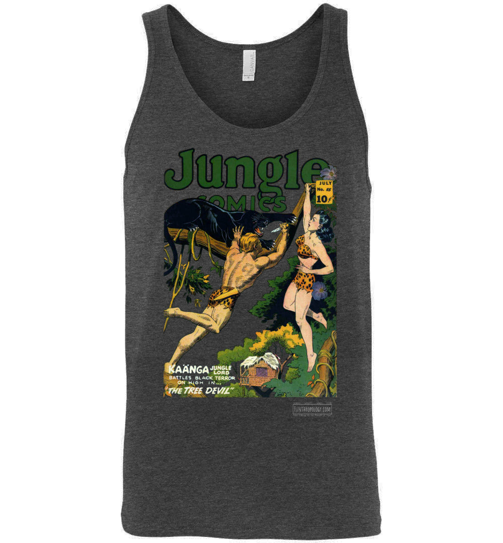 Jungle Comics No.55 Tank Top (Unisex, Dark Colors)