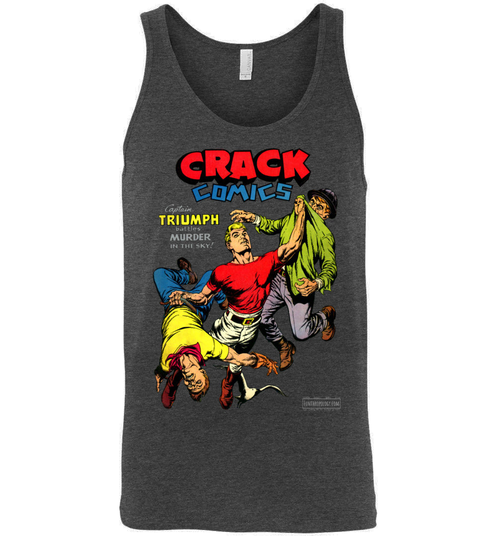 Crack Comics No.48 Tank Top (Unisex, Dark Colors)