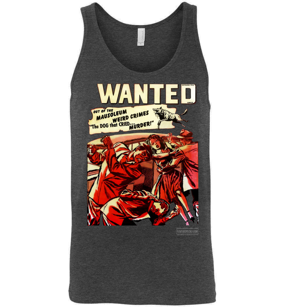 Wanted Comics No.49 Tank Top (Unisex, Dark Colors)