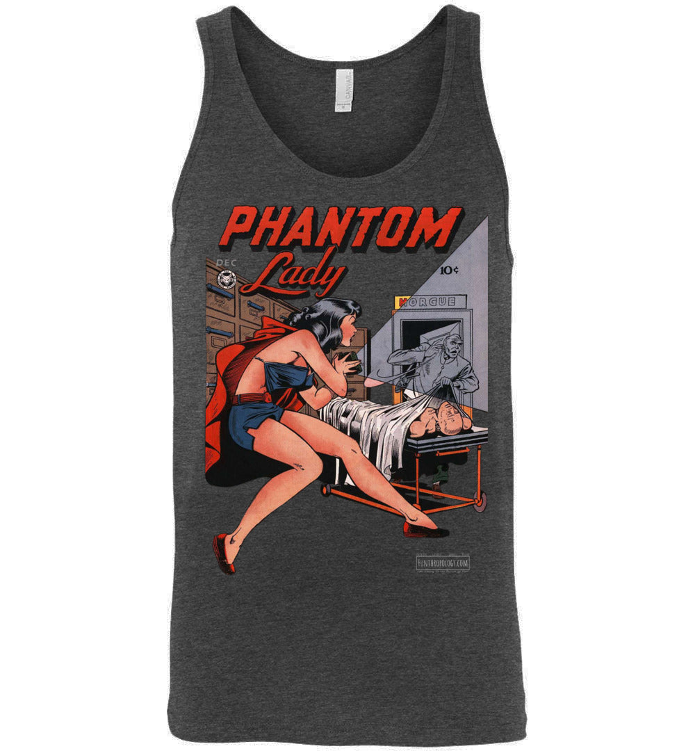 Phantom Lady No.15 Tank Top (Unisex, Dark Colors)