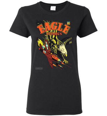 Eagle Comics No.1 T-Shirt (Womens, Dark Colors)
