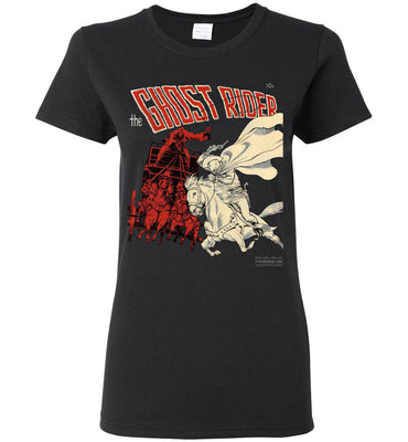 The Ghost Rider No.2 T-Shirt (Womens, Dark Colors)