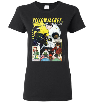 Yellowjacket No.7 T-Shirt (Womens, Dark Colors)