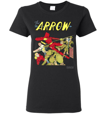 The Arrow No.3 T-Shirt (Womens, Dark Colors)