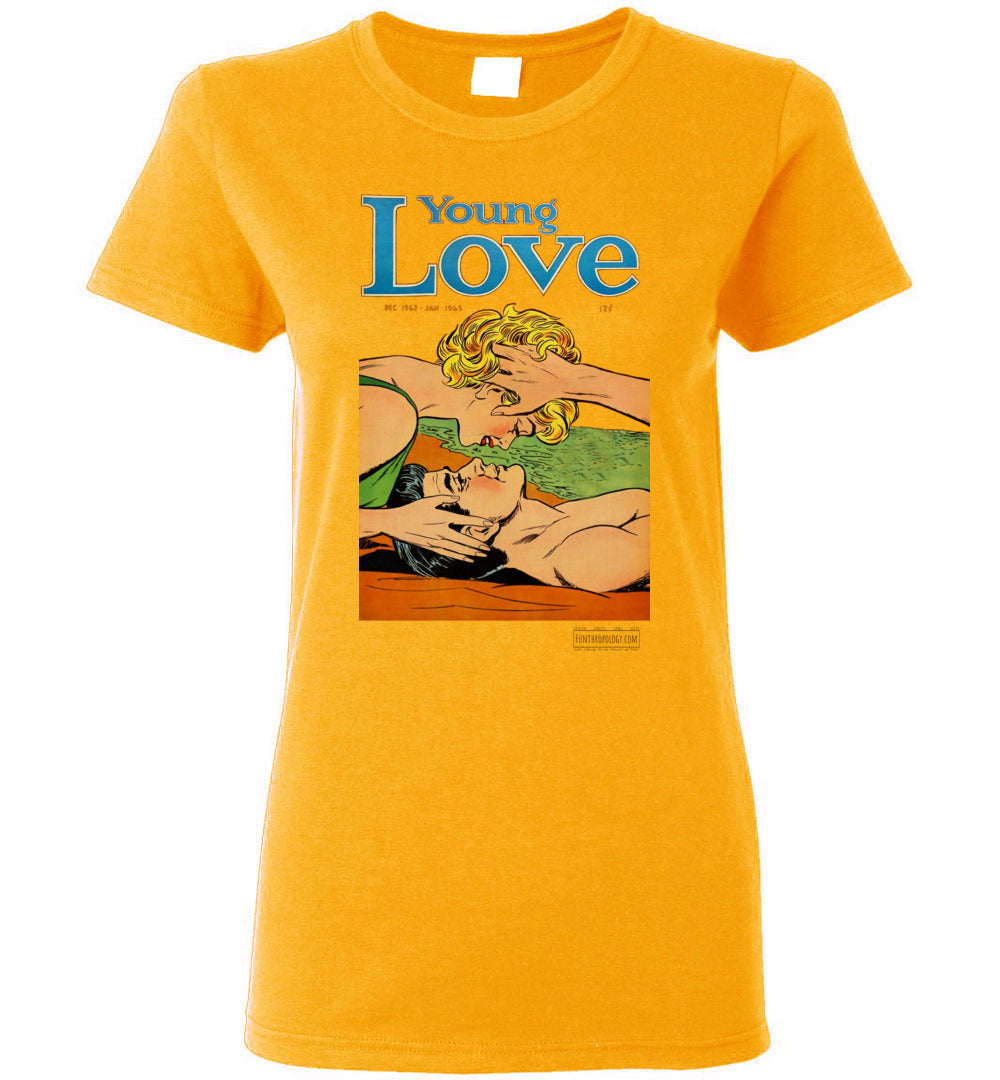 Young Love No.6.4 T-Shirt (Womens, Light Colors)