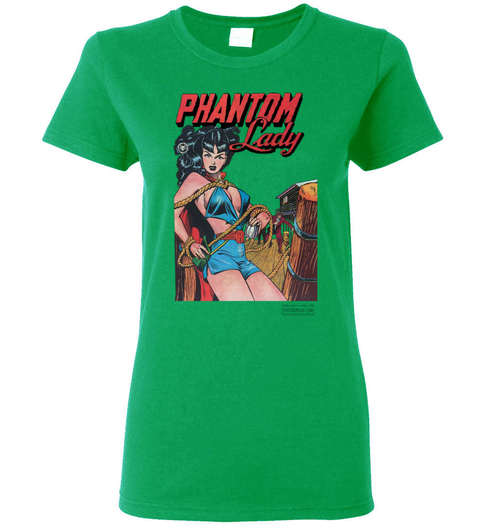 Phantom Lady No.17 T-Shirt (Womens, Light Colors)