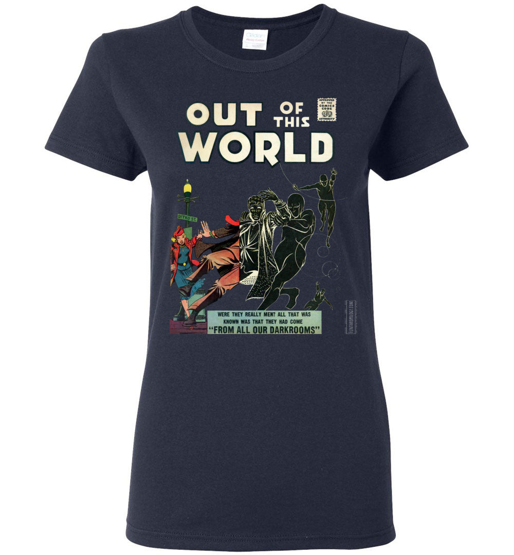 Out Of This World No.4 T-Shirt (Womens, Dark Colors)