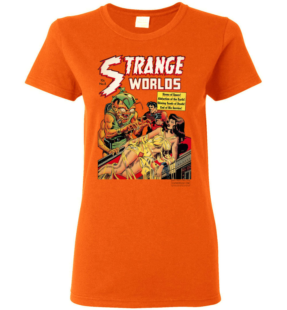 Strange Worlds No.5 T-Shirt (Womens, Light Colors)