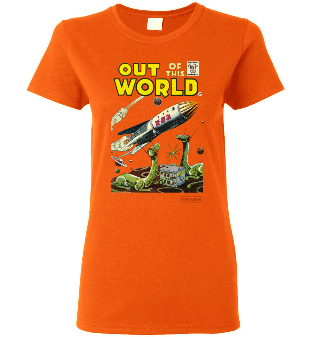 Out Of This World No.1 T-Shirt (Womens, Light Colors)