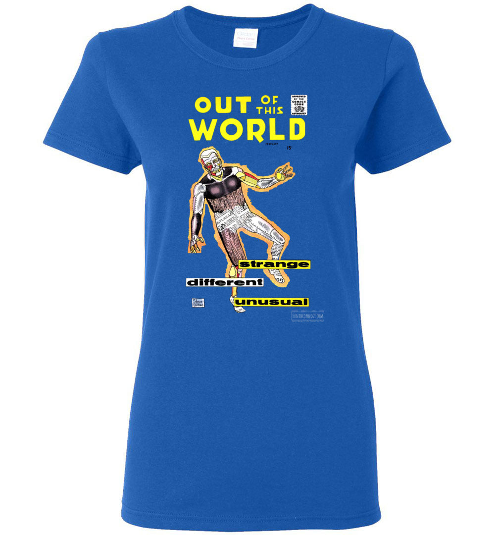 Out Of This World No.7 T-Shirt (Womens, Dark Colors)