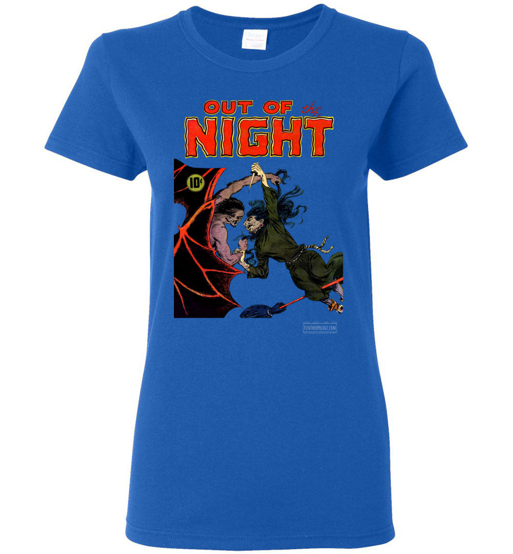 Out Of The Night No.4 T-Shirt (Womens, Dark Colors)