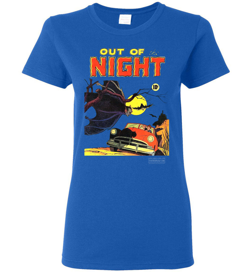 Out Of The Night No.1 T-Shirt (Womens, Dark Colors)