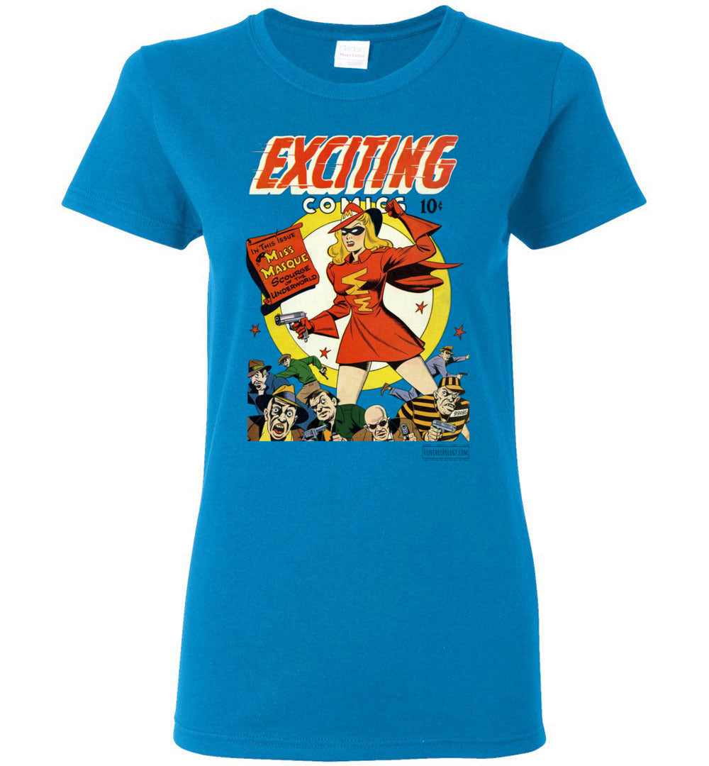 Exciting Comics No.53 T-Shirt (Womens, Light Colors)