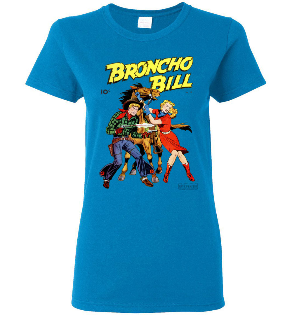 Broncho Bill No.11 T-Shirt (Womens, Light Colors)