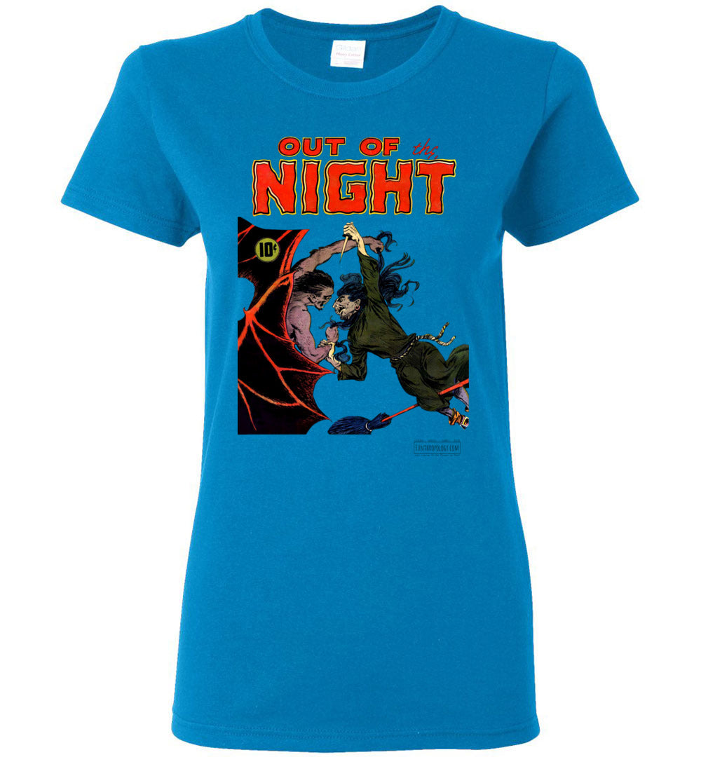 Out Of The Night No.4 T-Shirt (Womens, Light Colors)