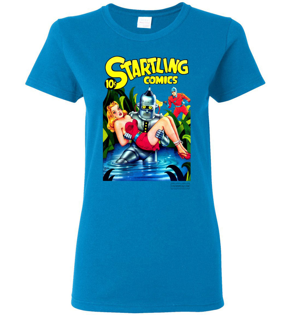 Startling Comics No.49 T-Shirt (Womens, Light Colors)