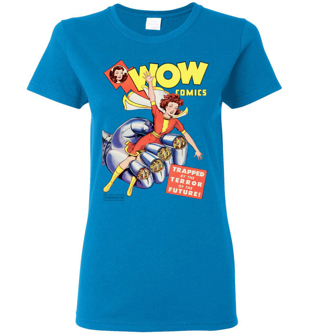 WOW Comics No.23 T-Shirt (Womens, Light Colors)