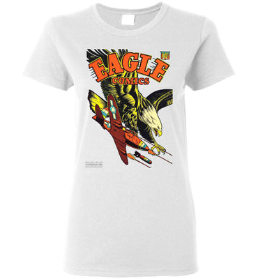 Eagle Comics No.1 T-Shirt (Womens, Light Colors)