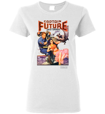 Captain Future No.11 T-Shirt (Womens, Light Colors)