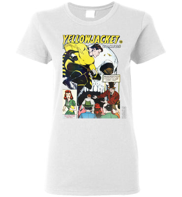 Yellowjacket No.7 T-Shirt (Womens, Light Colors)