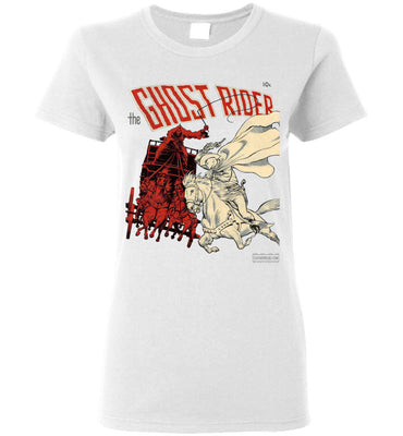 The Ghost Rider No.2 T-Shirt (Womens, Light Colors)