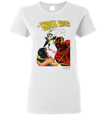 The Ghost Rider No.12 T-Shirt (Womens, Light Colors)