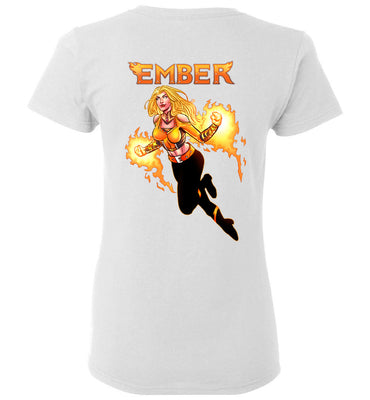 Capes & Chaos Ember T-Shirt (Womens)