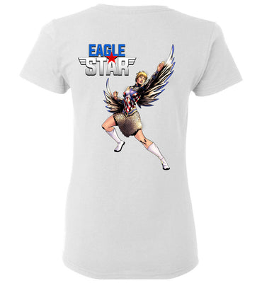 Capes & Chaos Eagle Star T-Shirt (Womens)