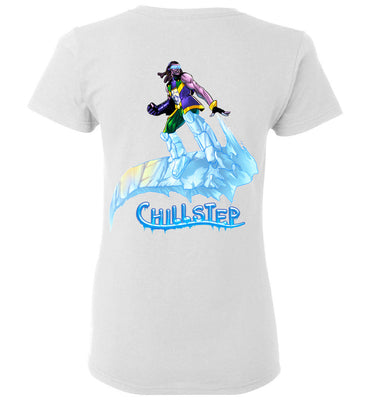 Capes & Chaos Chillstep T-Shirt (Womens)