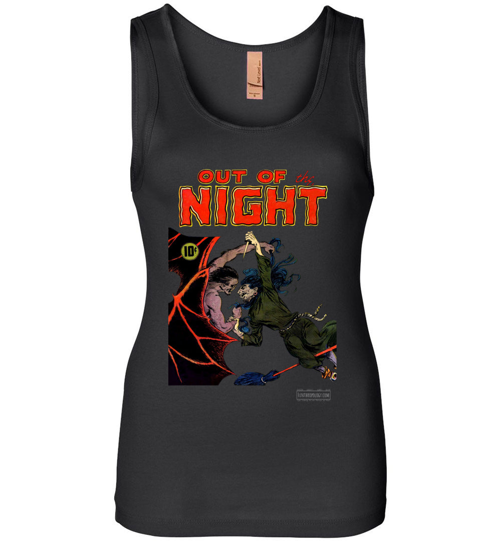 Out Of The Night No.4 Tank Top (Womens, Dark Colors)