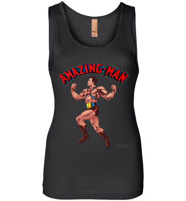 Amazing-Man Reimagined Tank Top (Womens, Dark Colors)