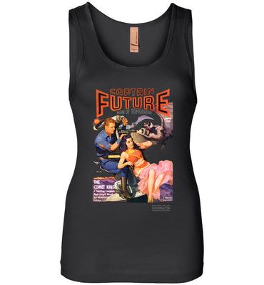 Captain Future No.11 Tank Top (Womens, Dark Colors)