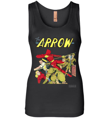 The Arrow No.3 Tank Top (Womens, Dark Colors)