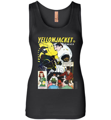 Yellowjacket No.7 Tank Top (Womens, Dark Colors)